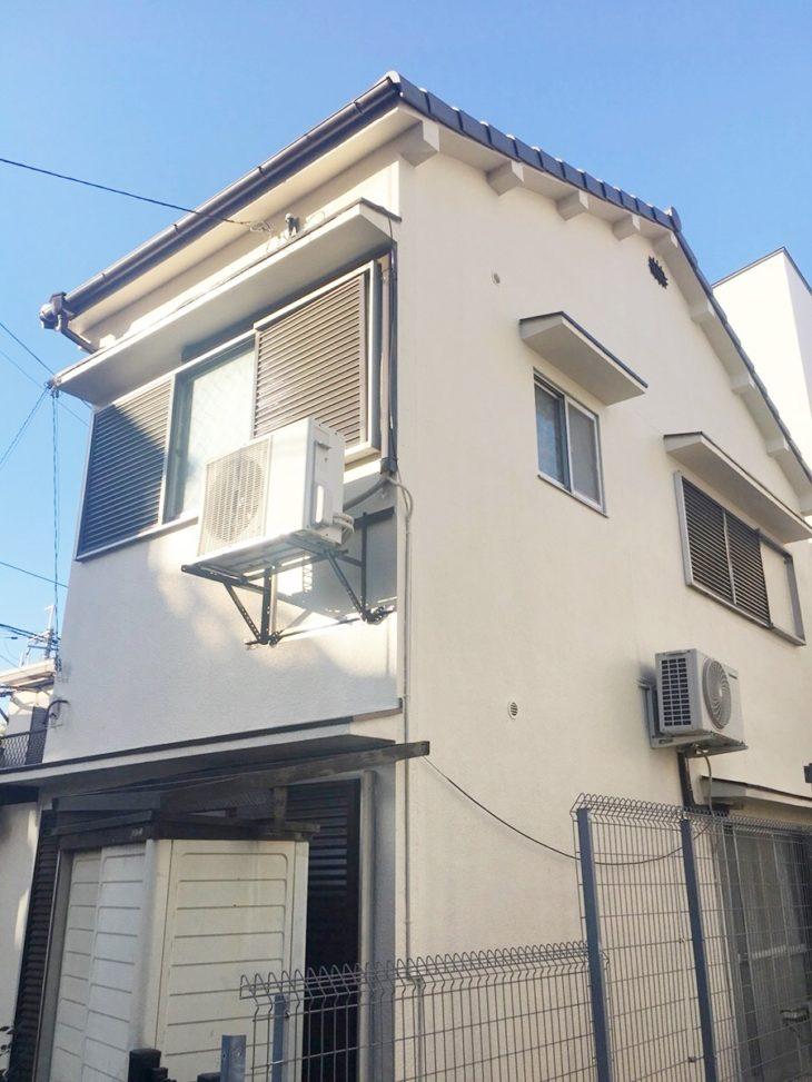 大阪市東淀川区 F様邸 外壁塗装・屋根葺き替え工事